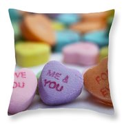 Me And You Forever Throw Pillow