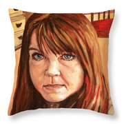 Me Myself And Eileen Throw Pillow