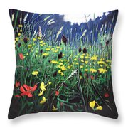 Meadow Glory Throw Pillow