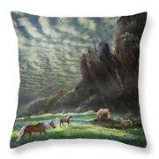 Meadow Retreat Throw Pillow