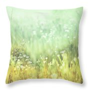 Meadowland Throw Pillow by Amy Tyler