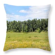 Meadowland Throw Pillow