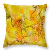 Meandering Melody Throw Pillow