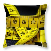Measures Throw Pillow