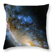 Meathook Galaxy Throw Pillow