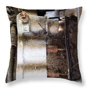 Mechanical Of An Airplane Throw Pillow