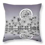 Mechanical Spirits Throw Pillow