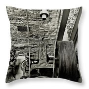Mechanics Throw Pillow