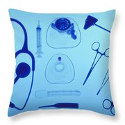 Medical Equipment Throw Pillow