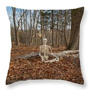Medical Leave  Throw Pillow