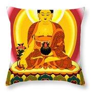 Medicine Buddha 10 Throw Pillow