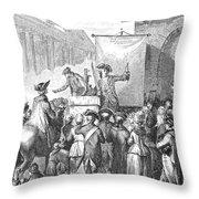 Medicine: Charlatan Throw Pillow