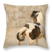 Medicine Hat Turns Throw Pillow
