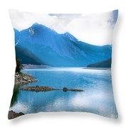 Medicine Lake Throw Pillow