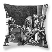 Medicine: Surgery, 1537 Throw Pillow