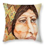 Medicine Woman Throw Pillow
