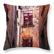 Medieval Architecture Throw Pillow by Elena Elisseeva