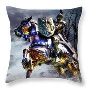 Medieval Throw Pillow