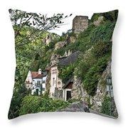 Medieval Durnstein Throw Pillow