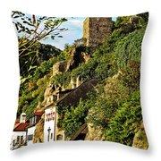 Medieval Durnstein II Throw Pillow