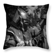 Medieval Faire Knight's Victory 1 Throw Pillow