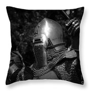 Medieval Faire Knight's Victory 2 Throw Pillow