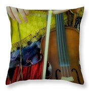 Medieval Gypsy Throw Pillow