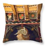 Medieval Splendour Throw Pillow