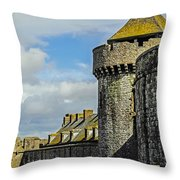 Medieval Towers Throw Pillow
