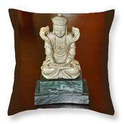 Chineses Meditation Throw Pillow