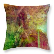 Meditation Throw Pillow