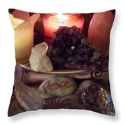 Meditation Time Throw Pillow
