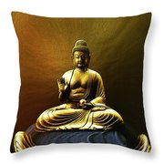 The Meditative State Throw Pillow