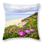 Mediterranean Landscape Throw Pillow