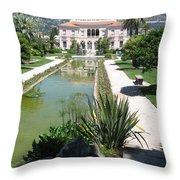 Mediterranean Lifestyle Throw Pillow