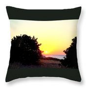What You Sea From The Mediterranean View  Throw Pillow