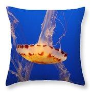 Medusa Jelly Throw Pillow