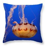 Medusa Jellyfish  Throw Pillow