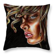 Medusa No. One Throw Pillow