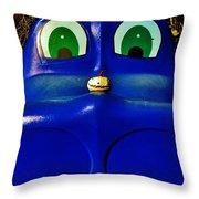 Meet My Friend Throw Pillow