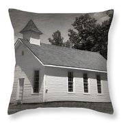 Meeting House Throw Pillow