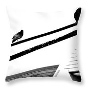 Meeting On Line  Throw Pillow