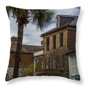 Meeting Street Homes Throw Pillow