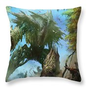 Megantic Sliver Throw Pillow