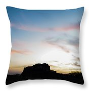Mehrangarh Fort Throw Pillow