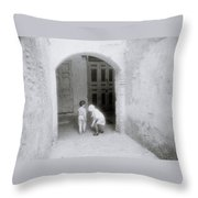 Moroccan Dreams Throw Pillow