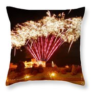Melange De Soufre Throw Pillow