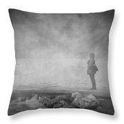 Melatonin Throw Pillow