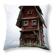 Melba Idaho's Birdhouse Throw Pillow