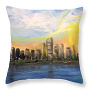 Melisa's Sunrise Throw Pillow